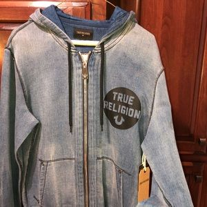 True religion zip hoodie NEW w/tags